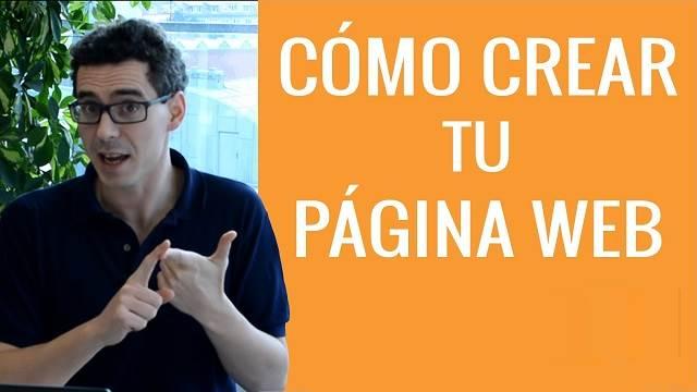 Como Crear una Página Web:  Guía Paso 1 Fácil